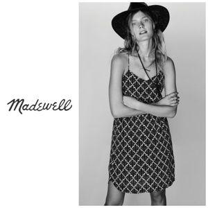 Madewell Silk Daylight Dress In Ikat Bloom Size 0